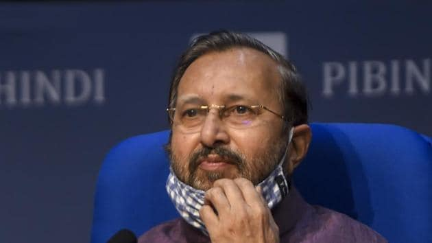 In New Delhi, Union environment minister Prakash Javadekar on Thursday said the draft has not been finalized yet as the public consultation is still underway and the process of finalization may take more time.(PTI file photo)