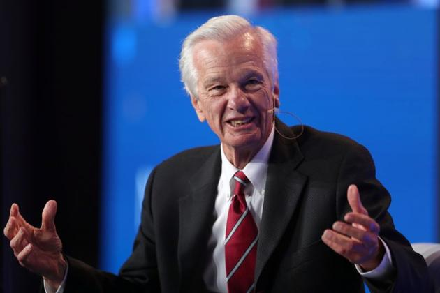 FILE PHOTO: Jorge Paulo Lemann, Co-Founder and Board Member, 3G Capital; Board Member, Kraft Heinz, speaks at the Milken Institute's 21st Global Conference in Beverly Hills, California, U.S. April 30, 2018.(REUTERS)