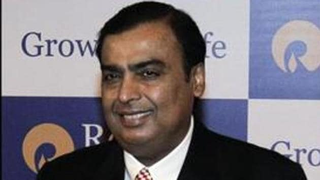 Reliance Industries Ltd.'s chairman is now worth $80.6 billion, after amassing $22 billion this year, according to the Bloomberg Billionaires Index(Reuters)