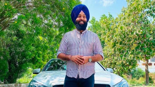 """The way the music industry has seen a rise with people demanding unique and soul-touching music, Harpreet decided to launch his own company called """"Singhwithbenz""""."""