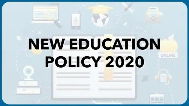 National education policy 2020.(HT file)