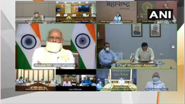 The Prime Minister emphasised on better coordination between all central and state agencies to have a permanent system for forecasting of floods in the meeting.(ANI)