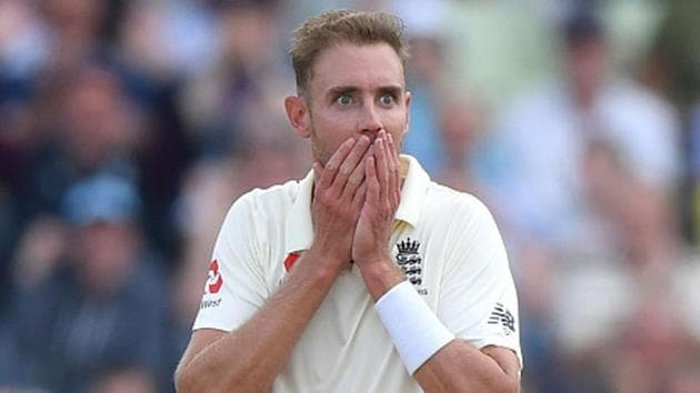 This is the third demerit point for Stuart Broad in 24 months.(Getty Images)
