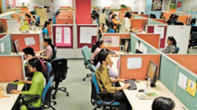 Police said the call centre was busted following an investigation into a complaint filed by one Pawan Kumar, who was cheated of nearly Rs 2.19 lakh in name of providing a personal loan of Rs 10 lakh. Photograph: ABHIJIT BHATLEKAR/MINT(Representative Image)