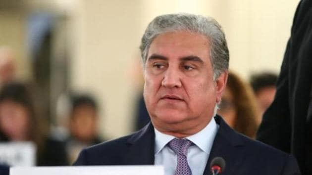 Pakistan foreign minister Shah Mehmood Qureshi(REUTERS File Photo)