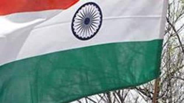 Independence Day celebrations will be limited to unfurling of the National Flag, speech by the administrator and singing of the National Anthem.(HT photo)