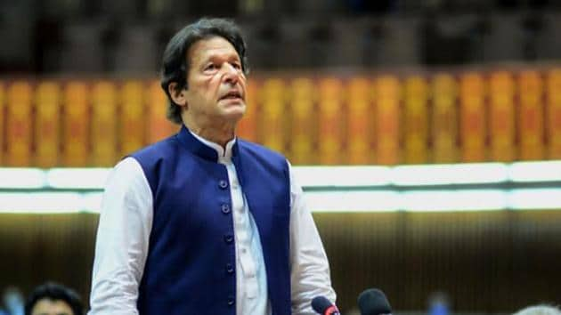 Pakistan's Prime Minister Imran Khan.(AFP photo)