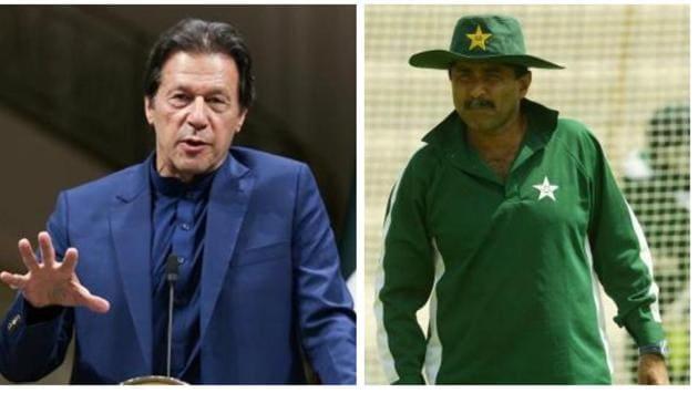 Imran Khan and Javed Miandad.(Reuters/Getty)