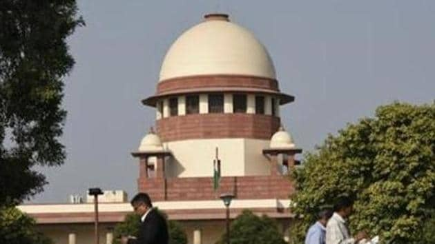 The Supreme Court after examining the high court judgment observed that the arguments raised by the Centre before the Supreme Court were not raised before the high court.(HT PHOTO.)