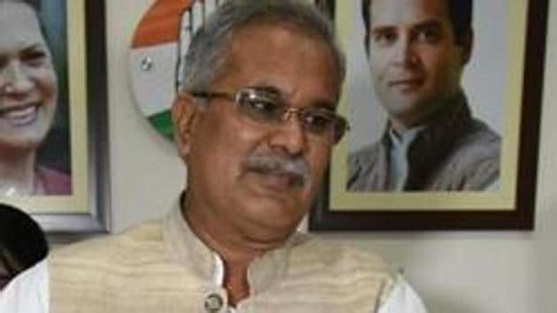 Baghel made an impassioned plea that the key environmental policy guideline should be in consonance with the rights of the tribals and rural bodies in a state such as Chhattisgarh.(Arijit Sen/HT file photo)