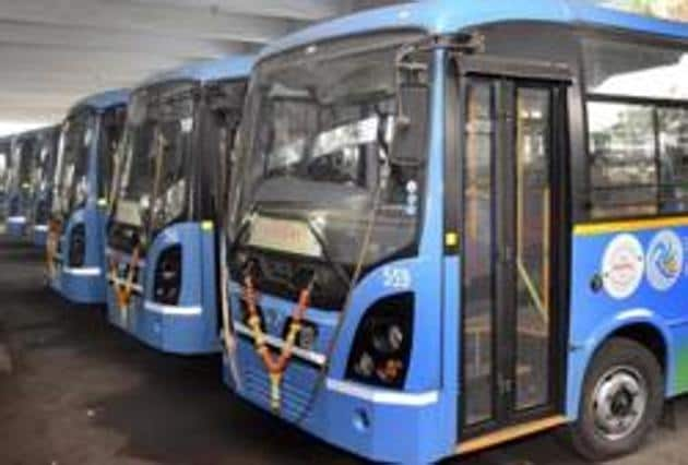 The standing committee approved to transfer Rs25 crore for PMPML, of which Rs13 crore would be utilised for purchasing 50 buses(HT PHOTO)