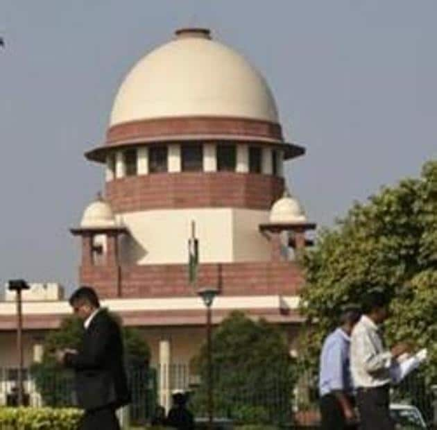 The Supreme Court is seen in this file photo. The top court was hearing one such appeal filed by an Uttar Pradesh-based jewellery retailer against an order passed by the forum in February this year and adjourned it to January next year.(Burhaan Kinu/HT Photo)