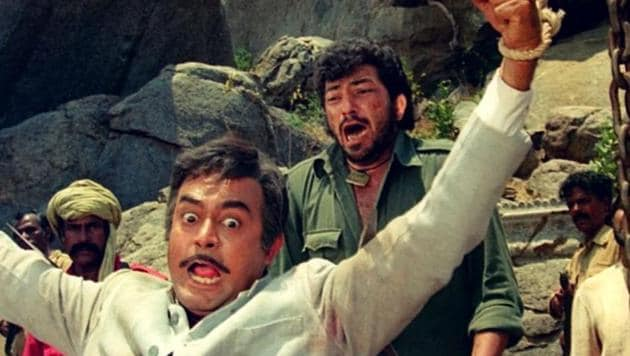 Ramesh Sippy's Sholay is considered among the best Hindi films of all time.