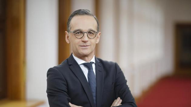"""Germany's foreign minister Heiko Maas welcomed both the agreement and the decision to suspend annexation and called to congratulate his Israeli counterpart Gabi Ashkenazi on """"this historic step"""".(Thomas Imo/photothek.net)"""