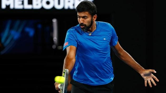 Rohan Bopanna was the first tennis pro to resume training in India, hitting the courts in Bengaluru in June.(Getty Images)