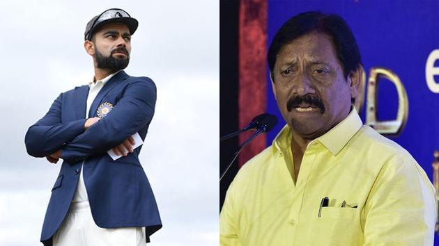 File images of Virat Kohli and Chetan Chuhan(Getty Images)