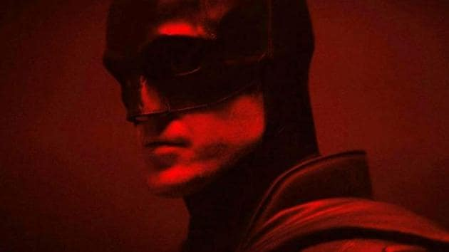 Robert Pattinson as the Batman.