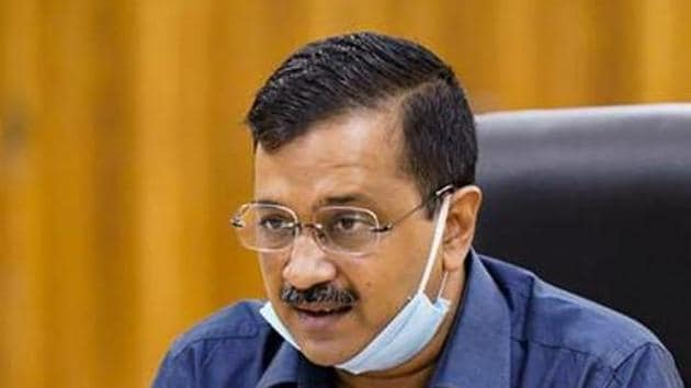 New Delhi: Delhi Chief Minister Arvind Kejriwal thanked all stakeholders, including the Central government, the corona warriors and various organisations.(PTI)
