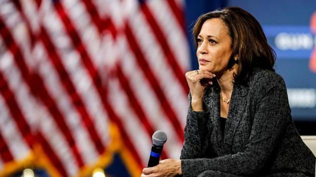 Sen. Kamala Harris is running for an election in the United States (US)(REUTERS)