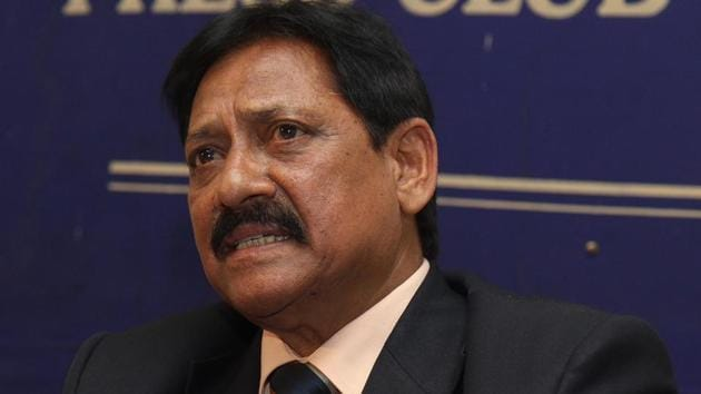 Chetan Chauhan who had tested positive for COVID-19 last month, died aged 73 due to multiple organ failure, at a hospital in Gurugram, on Sunday, August 16, 2020. (Photo by Sonu Mehta / HT Archive)