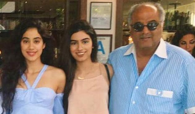 Janhvi Kapoor revealed her sister Khushi and father Boney's response to her getting trolled.