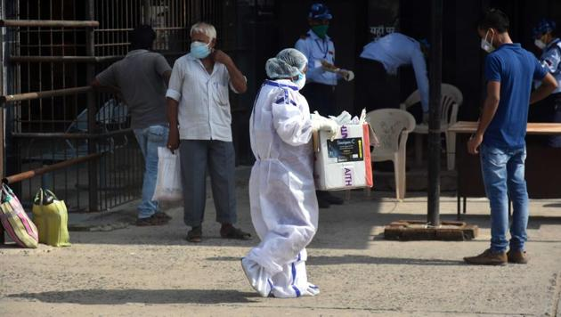 The Bihar government Monday initiated de-empanelment procedure against a private hospital in Patna for serious lapses in its functioning.(Representative image/HT PHOTO)