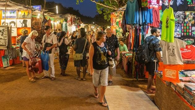 Goa has opened for tourism with strict protocols in place for those wishing to visit the state for a holiday, but operators say the numbers are only about 5-7% of normal levels.(SHUTTERSTOCK.)