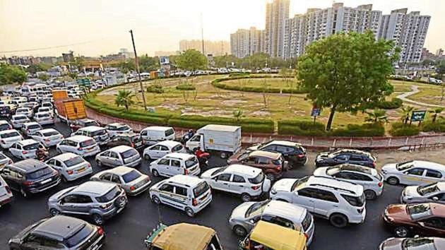 Around 18,000 motorists use the Parthala Chowk stretch in peak hours, says an authority survey.