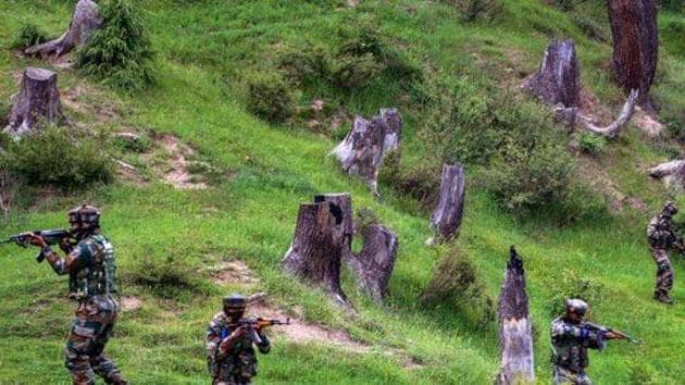 This was the third attack on security forces in Kashmir in less than a week.(PTI File photo)