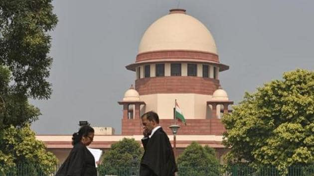 A view of the Supreme Court(Sanchit Khanna/HT Photo)