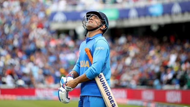 File image of MS Dhoni.(ICC via Getty Images)
