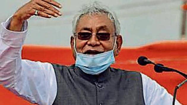 Bihar CM Nitish Kumar(HT)