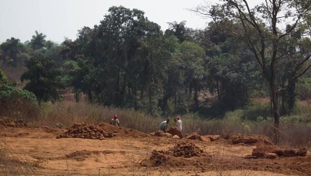The issue dates back to January 1997 when the Goa government set up the Sawant Committee following the directions of the Supreme Court which had directed that private lands that met the criteria of forests be declared as such and be protected.(HT Photot)