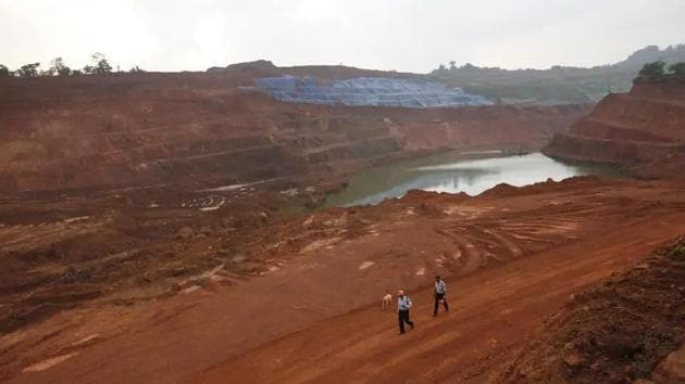 The mines ministry has requested the environment ministry to annualize the upfront NPV payments because of the economic slowdown associated with the pandemic.(Vijayananda Gupta/ HT File Photo)