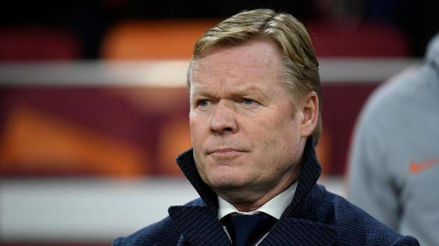 Ronald Koeman(REUTERS)