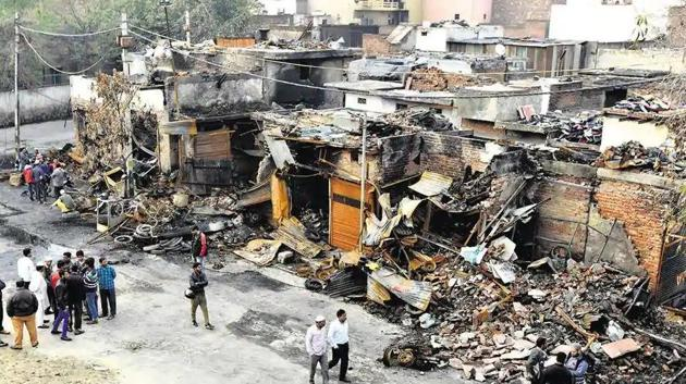 53 people were killed and 400 injured in the violence in north-east Delhi, which started on February 23 on a two-kilometre stretch connecting Jafrabad and Maujpur.(Sonu Mehta/HT Photo)