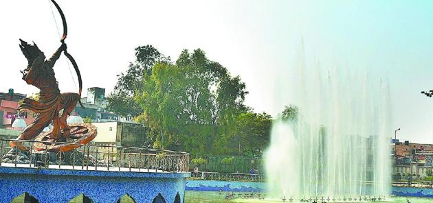 Karnal was slotted at number 17 in cities with a population of 1 to 10 lakh. It also came in second in the region after the union territory of Chandigarh, which secured 8th position and emerged as the cleanest city in north India with a population of above 10 lakh.(HT photo)