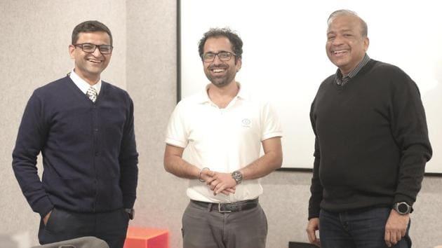 From Left : Nirav Maniar, Abhinav Bangia and Lloyd Mathias