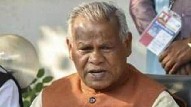 Hindustani Awam Morcha Secular (HAM-S) president Jitan Ram Manjhi had fallen out with Nitish Kumar after he was made to quit the CM's post in early 2015. He walked out of the NDA after a poor show in the 2015 Assembly polls.(PTI PHOTO.)
