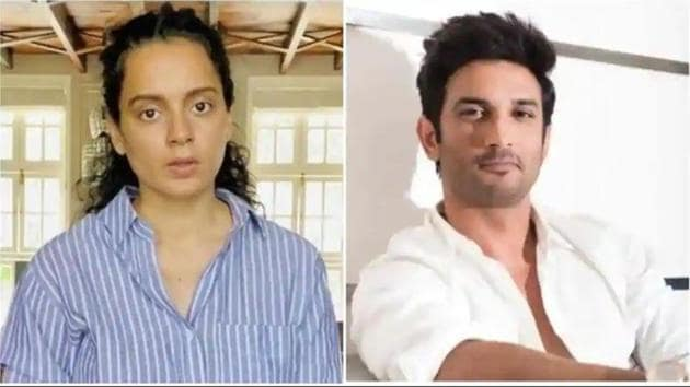 Kangana Ranaut has inserted herself into the Sushant Singh Rajput death case.