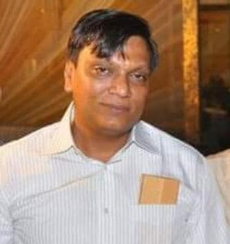 Moga-based car dealer Pankaj Bansal, who was arrested on Friday, a day after Satish Kumar, a Chandigarh-based gun house owner was held. Both of them are accused of buying illegal weapons and forging sales bills.(HT Photo)