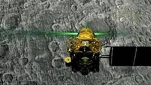Chandrayaan-2 mission was India's first attempt to make a softlanding of a rover on the unchartered South Pole of the lunar surface.(PTI)