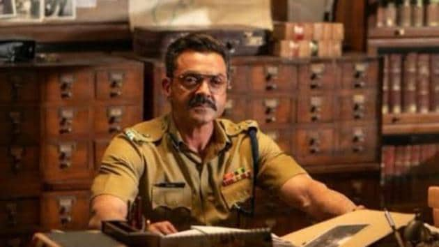 Class of 83 stars Bobby Deol as a top cop.