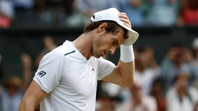 Great Britain's Andy Murray after winning the fourth round match against France's Benoit Paire.(REUTERS)