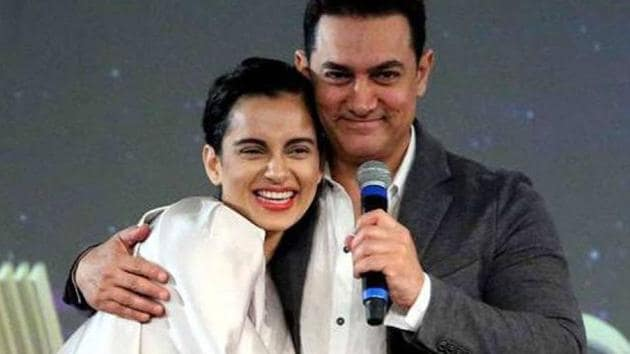 Kangana Ranaut had questioned Aamir Khan's secularism on the basis of a fake interview.
