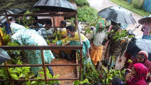 A campaign to turn Chhattisgarh's Bastar district greener has received an overwhelming response from people belonging to all walks of life.(Sourced)