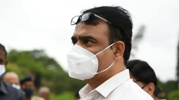 Karnataka Deputy Chief Minister Dr CN Ashwath Narayan. (Twitter)