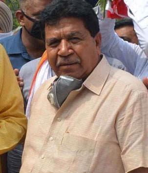 Haryana assembly Speaker Gian Chand Gupta, who tested positive on Monday, had been unwell since Friday. His political aide and nephew had tested positive on Sunday.(Sant Arora/HT file photo)