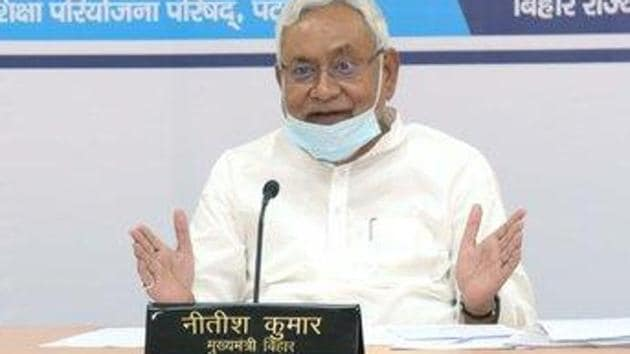 Earlier,the party had to cancel Nitish Kumar's virtual rally in view of the flood situation and Covid-19 pandemic in the state. (Photo @officecmbihar)