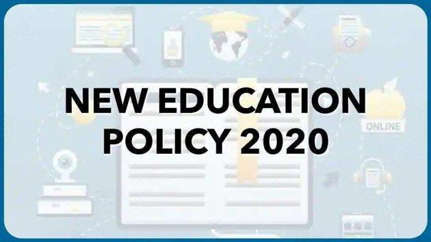 National education policy 2020. (HT file)